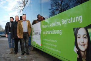 Frische Folie für Ummeln-Bus