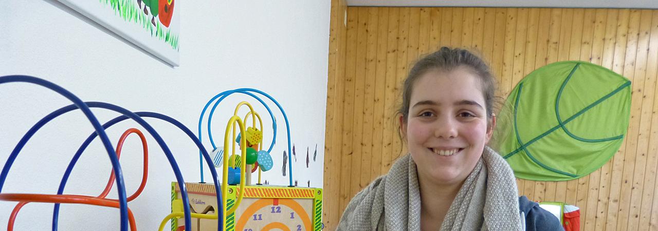 Marlene Henselmeyer: BFDlerin bei der Diakonischen Stiftung Ummeln