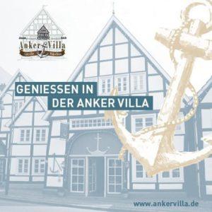 Titelblatt Flyer Anker Villa