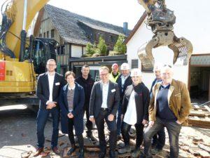 Gasthof Gröppel weicht Stiftungskontor