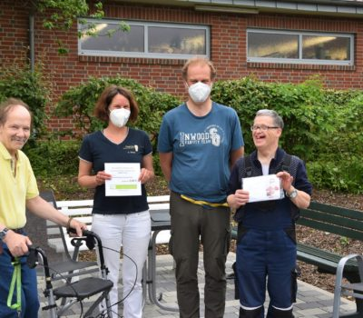Borgholzhausen Spendenübergab